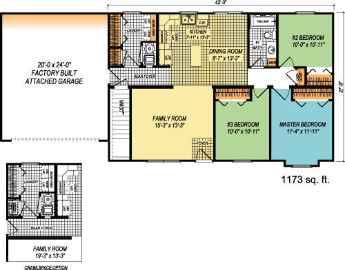 The Coventry custom floorplan
