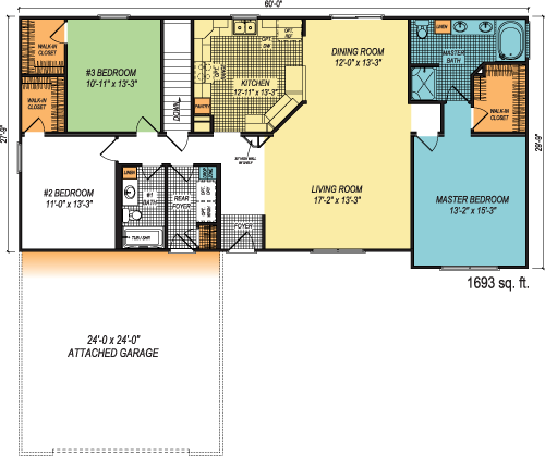 The Kendrick custom floorplan