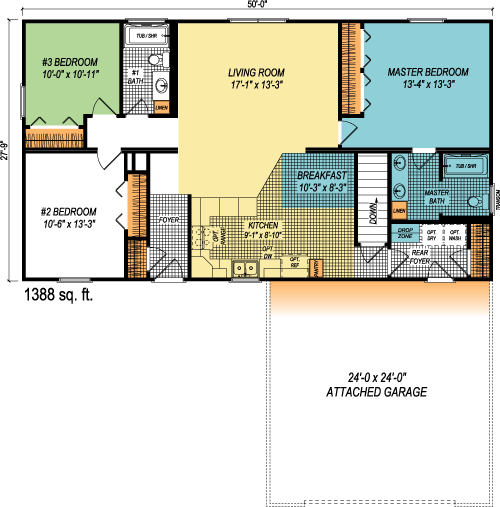 The Landon custom floorplan