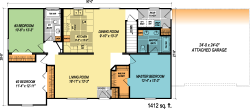 The Newport custom floorplan