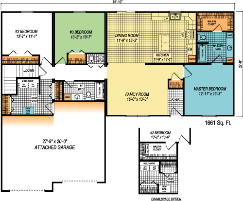 The Parkland custom floorplan