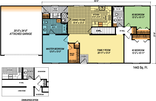 The Prestige custom floorplan