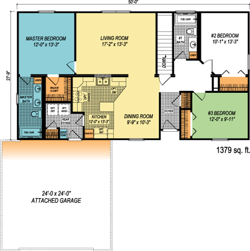 The Richland custom floorplan