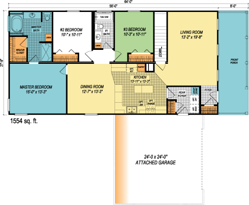 The Wyndwood custom floorplan
