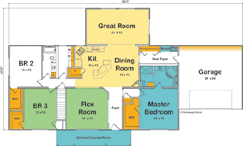 The Albany custom floorplan