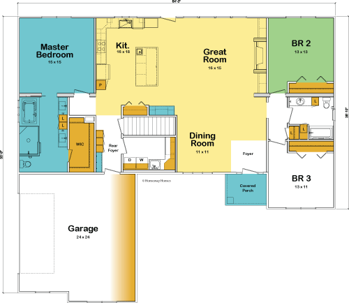 The Camden custom floorplan