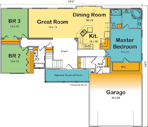 The Liberty custom floorplan