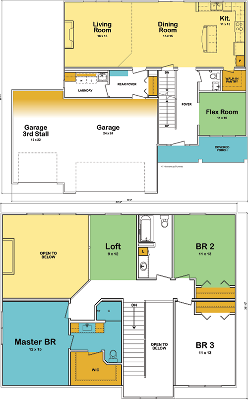 The Madison custom floorplan
