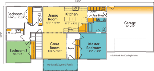 The Montclair custom floorplan