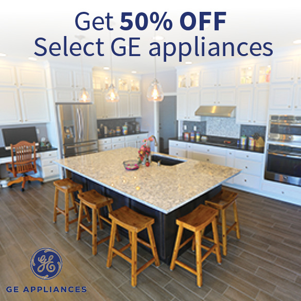 Homeway Homes GE Appliances 50 Off