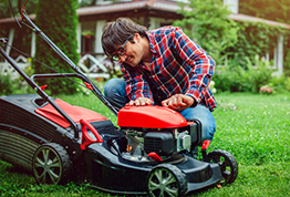 Drain and Store Your Lawn Equipment