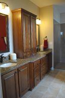 Custom Home Builders Homeway Homes Peoria IL Hamilton Bathrooms_1